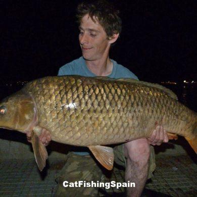 carp fishing in Spain