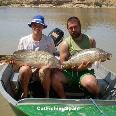 Carp fishing Spain