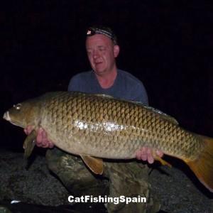 Carp fishing Mequinenza