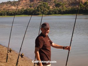 catfishing in Mequinenza