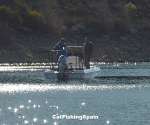 zander fishing in Spain